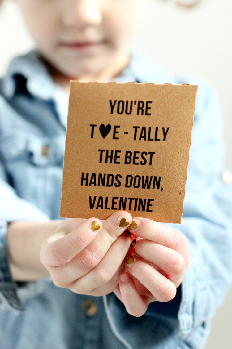Nail Decal Valentine Free Printable + Cut Files // www.deliacreates.com