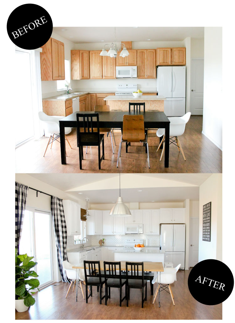 Kitchen Renovation Reveal // www.deliacreates.com