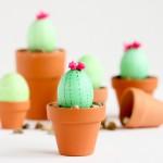 Cactus Easter Eggs