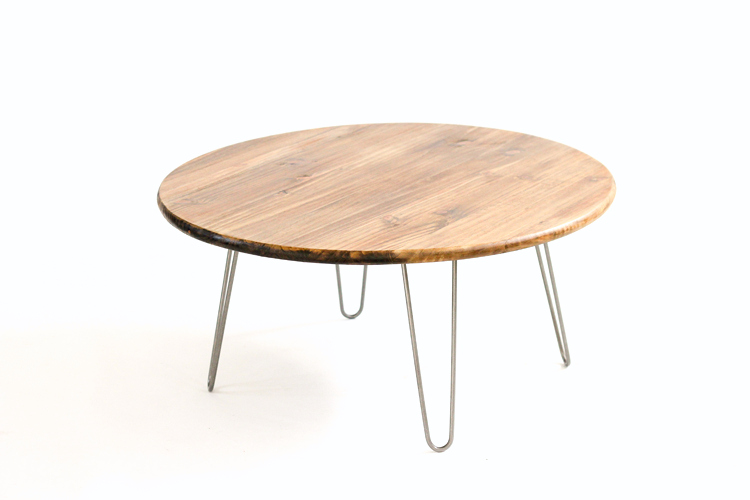 Round Coffee Table Hairpin Legs 7