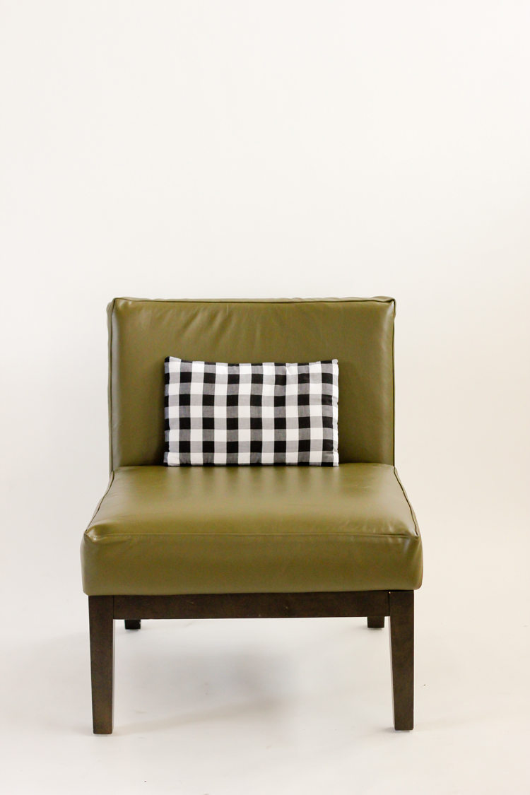 How To Sew Leather Upholstery Slipcovers With Your Home Sewing Machine //  Www.deliacreates