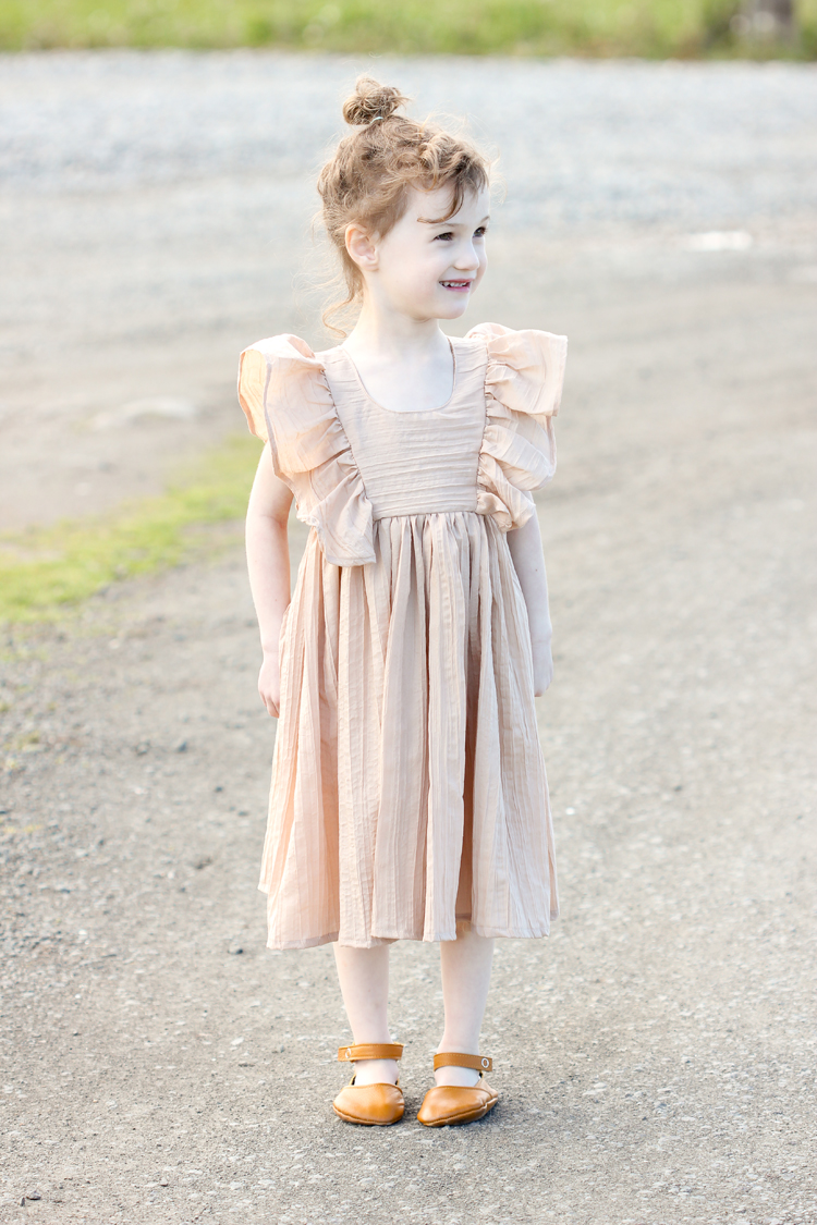 Ruffled Mori Dress // www.deliacreates.com