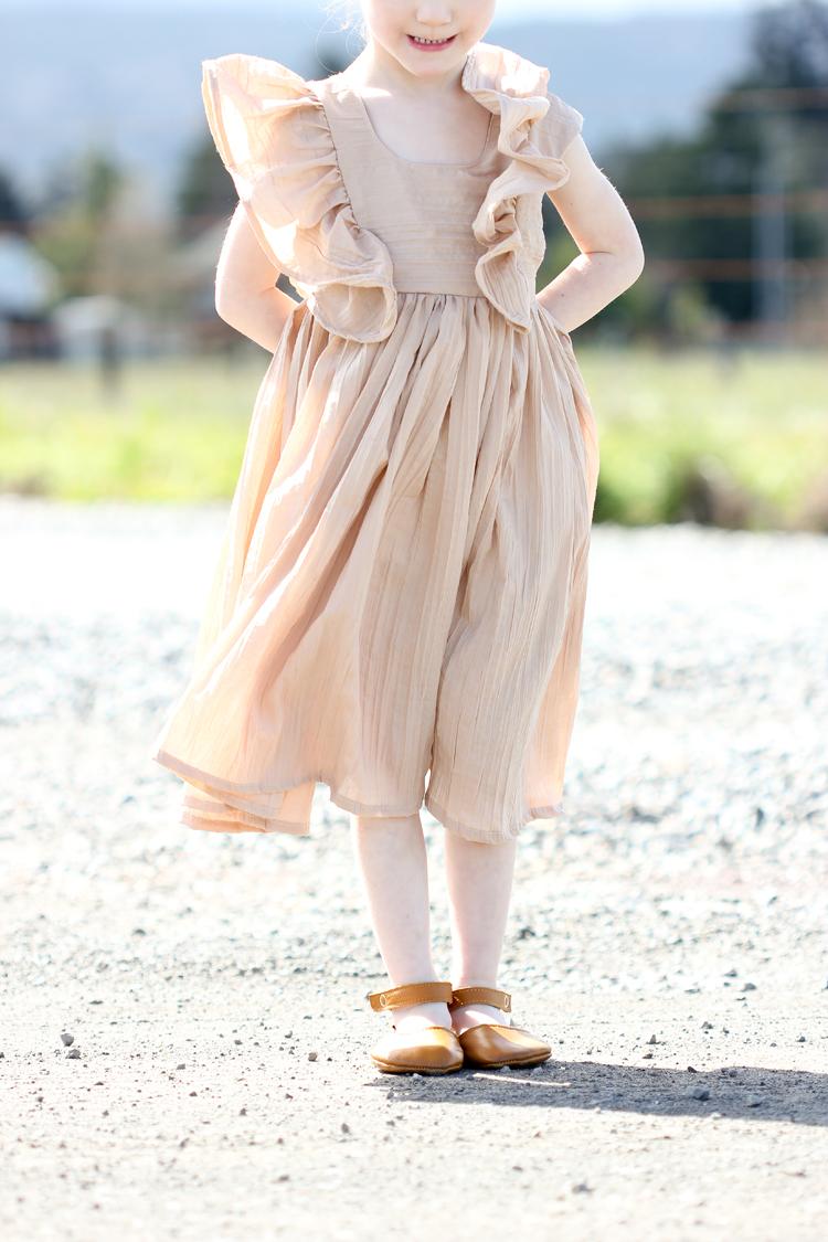 Ruffled Mori Dress // www.deliacreates.com