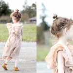 Ruffled Mori Dress