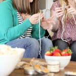 Gather Friends for a Stitch 'n' Flix Party + 15 Easy Crochet Projects