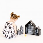 DIY Chalkboard Dollhouses – Tutorial