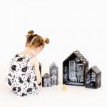 DIY Chalkboard Dollhouses – Tutorial