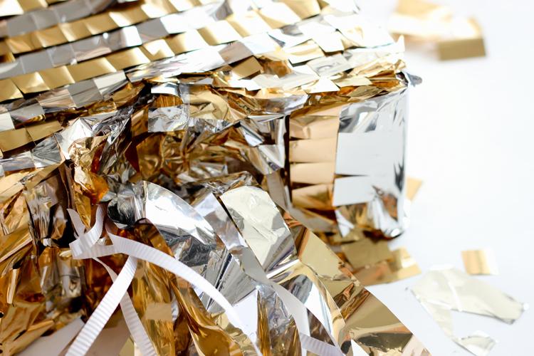 DIY Shooting Star Pull Pinata // www.deliacreates.com