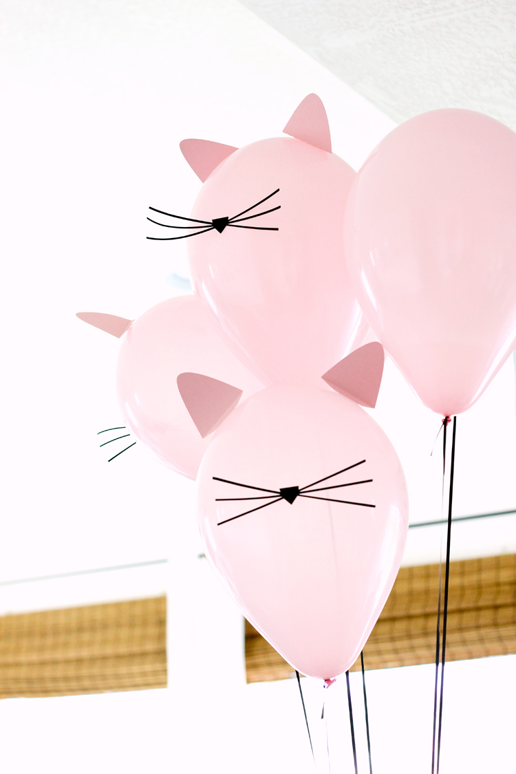 Kitty Cat Birthday Party Free Printables Deliacreates