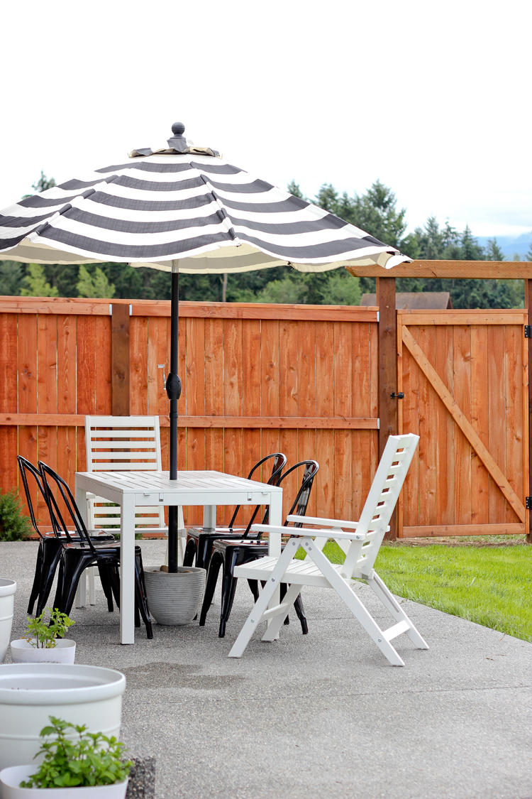 Easy Diy Patio Umbrella Stand Tutorial For Under 20 Www