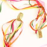 DIY Dancing Ribbon Rings