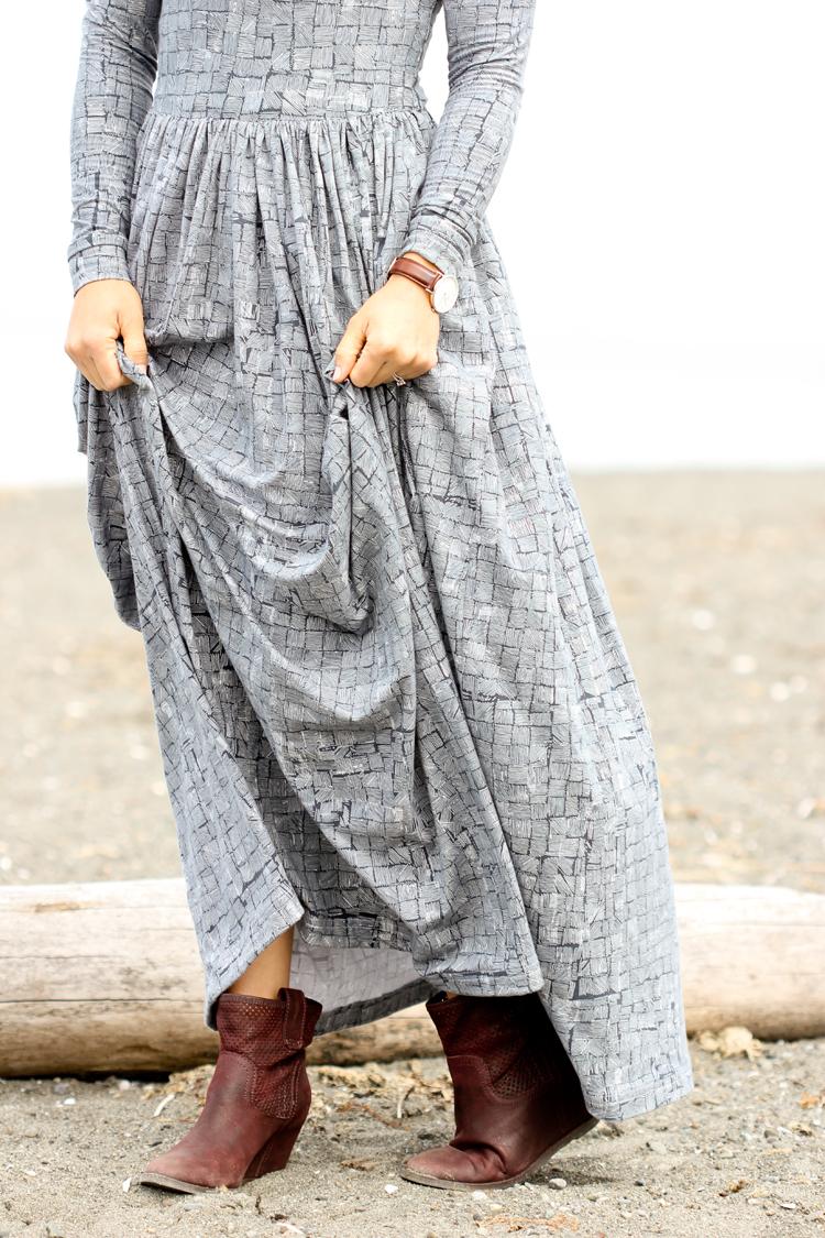 Observer Fabric Maxi Dress // www.deliacreates.com