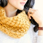 Bean Stitch Cowl – FREE PATTERN