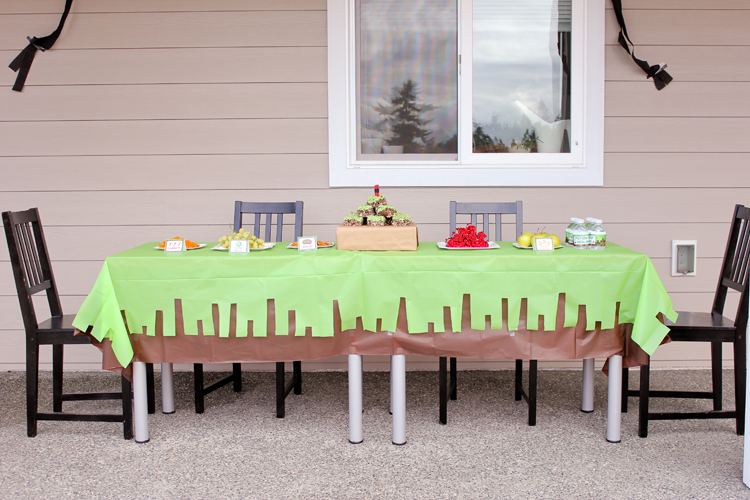 Simple Minecraft Birthday Party // www.deliacreates.com