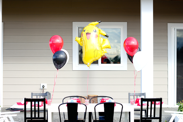 Pokemon Birthday Party // www.deliacreates.com