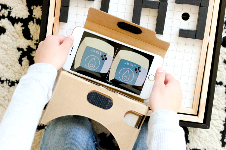 MAZE by Seedling: Make Your Own Virtual Reality Maze Game! // review on www.deliacreates.com