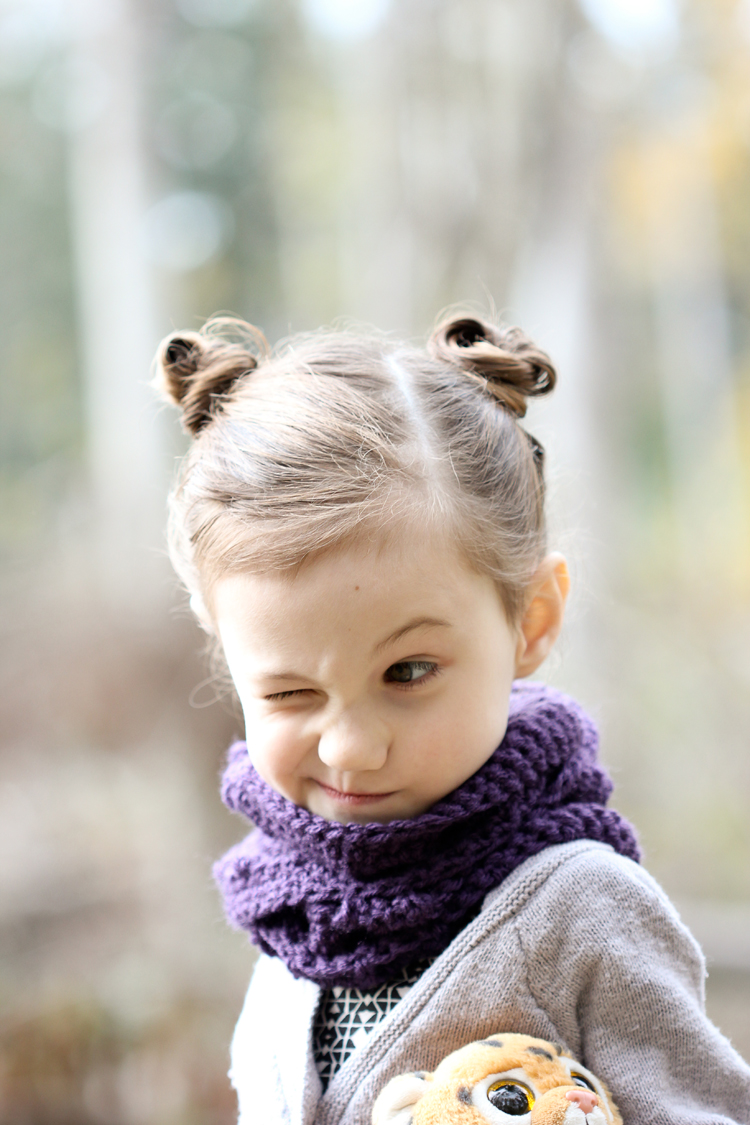 Three One Toddler Infinity Scarf Free Pattern