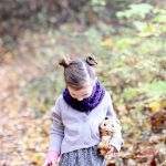 Three + One Toddler Infinity Scarf – FREE PATTERN