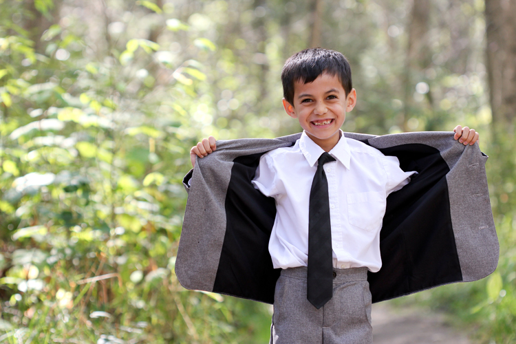 Sew Your Own Suit (for kids) // www.deliacreates.com