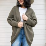 Green Carrie Cardigan