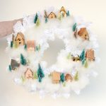Mini House Wreath Tutorial + Free Cut Files