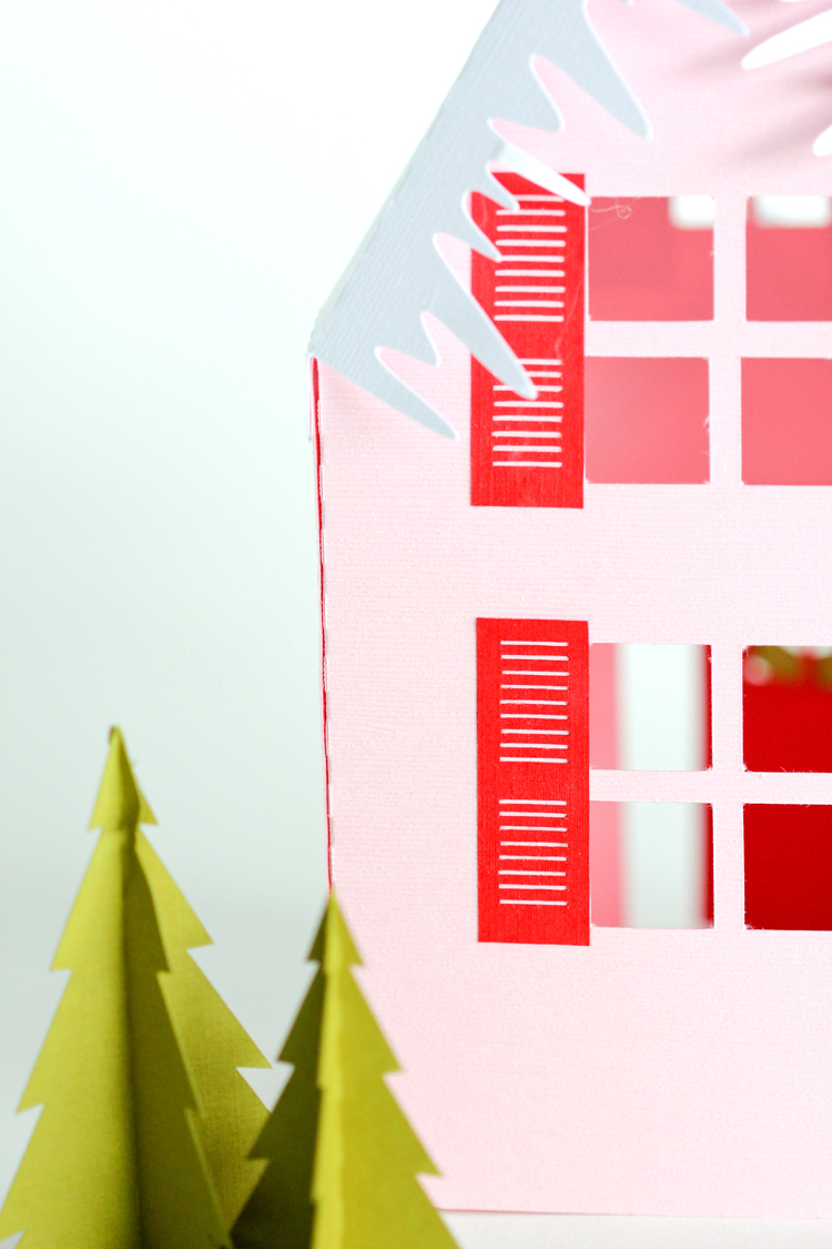 paper holiday houses templates com paper holiday houses templates