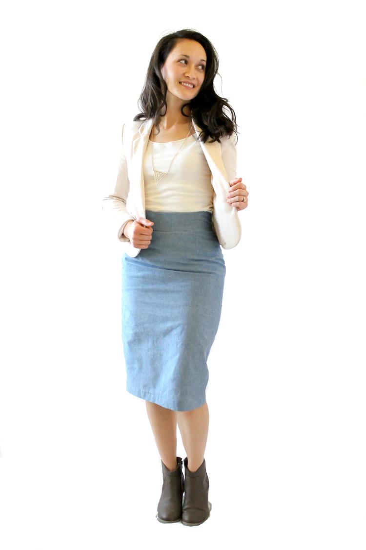 Pleated Pencil Skirt Pattern