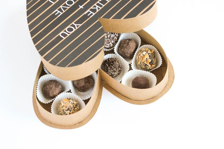 Letter Board Chocolate Box tutorial and free cut files! // www.deliacreates.com
