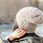 Skip Twist Cabled Beanie – FREE Crochet Pattern