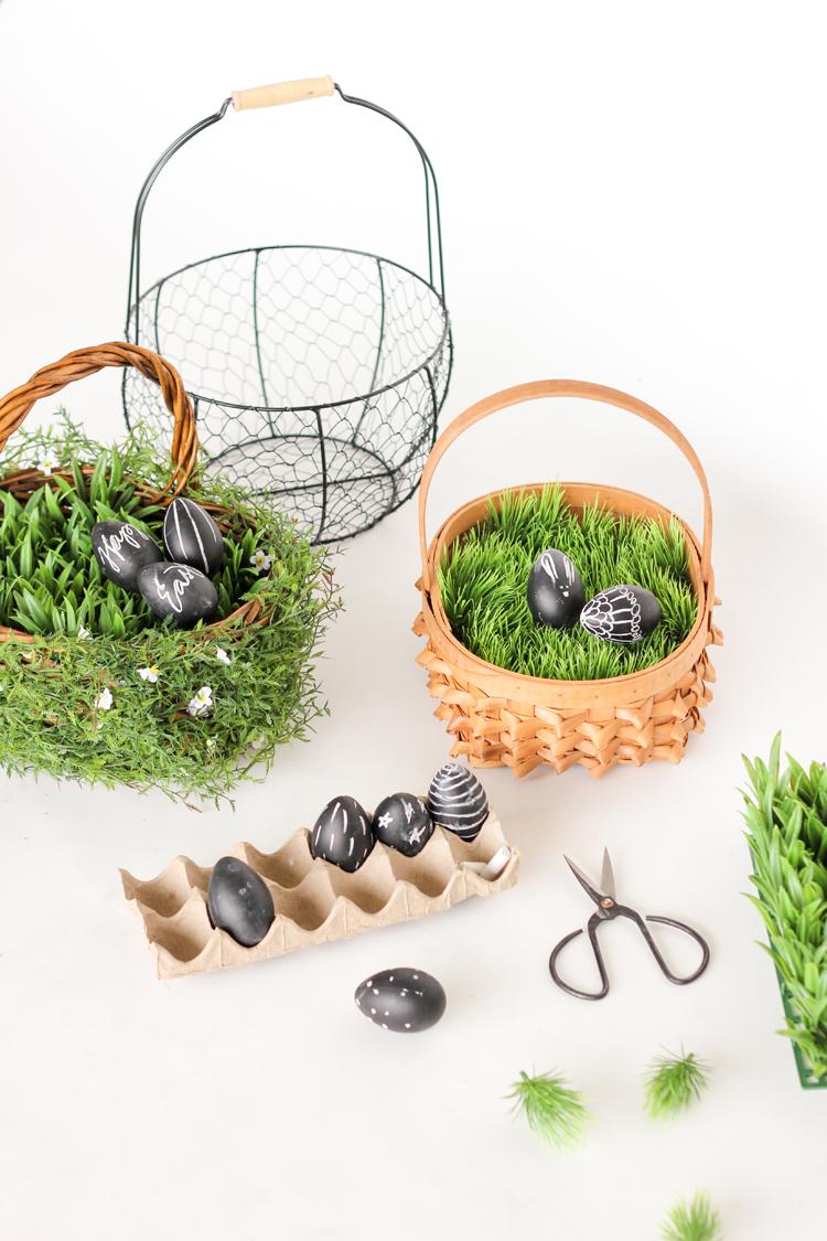 No Mess Easter Basket Grass // www.deliacreates.com