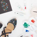 Folk Art Inspired Floral Statement Shoes