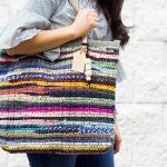 Rug Rag + Leather Bag Tutorial