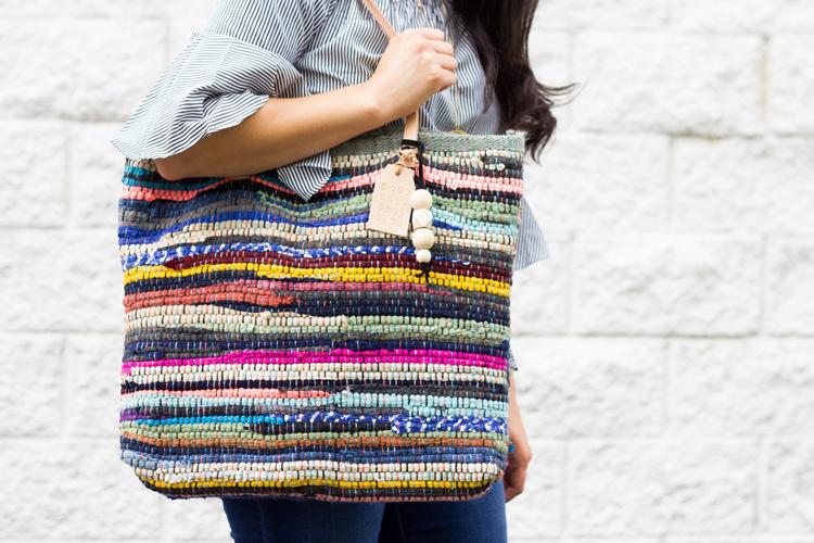 Rug Rag Leather Bag Tutorial Www Deliacreates Com