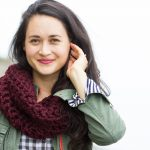 Finger Crocheted Cowl Tutorial + Pattern