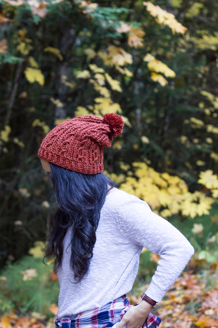 How to Crochet Cables + free beanie pattern + Video! // www.deliacreates.com