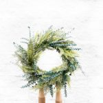 Mixed Greens Evergreen Wreath