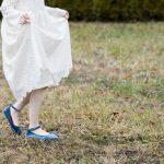 Lace Geranium Holiday Dress