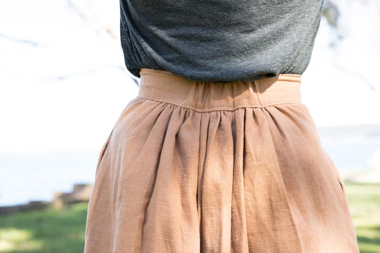 Midi-Length Anywhere Skirt + David Kind Richmonds // www.deliacreates.com