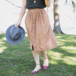 Midi-Length Anywhere Skirt + David Kind Richmonds