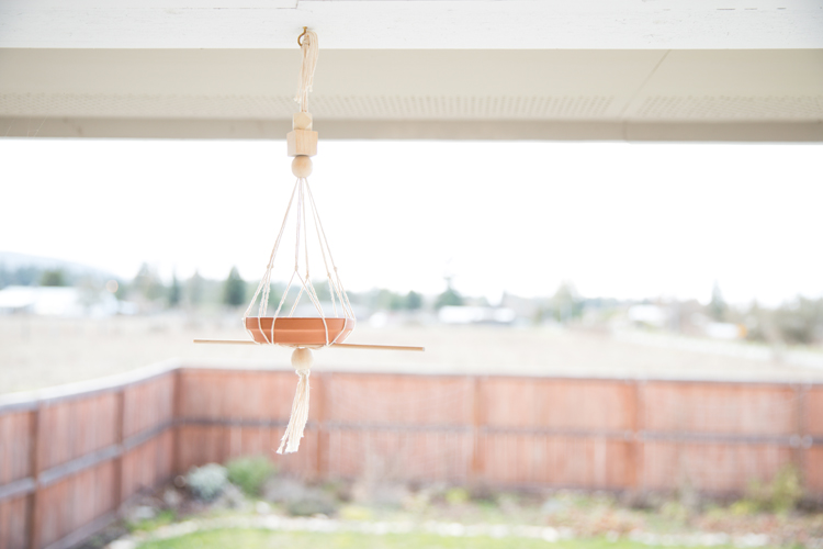 Simple Modern Bird Feeder DIY //www.deliacreates.com