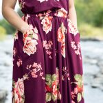 Maxi Length Catalina Sundress in the Double Brushed Poly