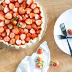 Dairy Free Strawberry Pie + Coconut Oil Pie Crust Recipe