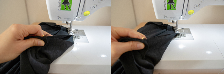 Sewing My Own Wide Leg Pants and an Inseam Pocket Tutorial // www.deliacreates.com