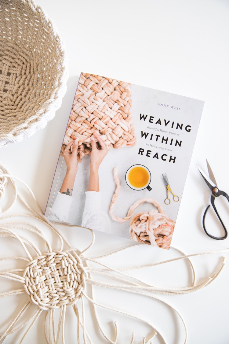 Weaving Within Reach Book Review // www.deliacreates.com // weaving without a loom!