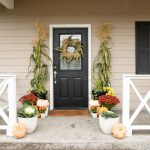 Fresh Cornstalk Fall Wreath