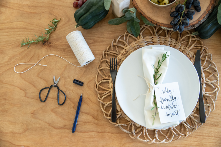 Four Easy Ideas For Making Thanksgiving More Meaningful // www.deliacreates.com //