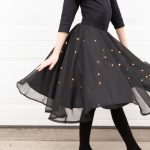 Starry Night Sky Halloween Costume (+ Lighted Skirt Tutorial)
