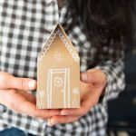 Gingerbread House Paper Gift Boxes – Free Template + Cut file!