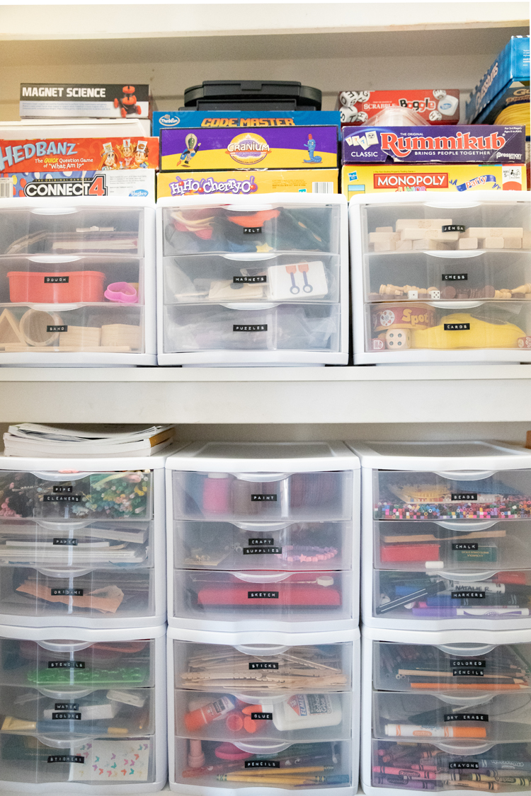One of My Favorite Organizing Bins // www.deliacreates.com // How drawer organizers will change your organization game!