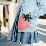 Strawberry Coin Purse – free pattern and tutorial